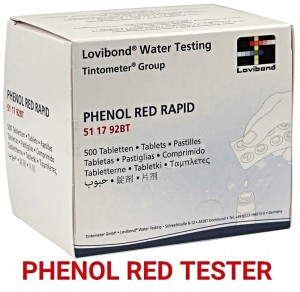 Tabletki Phenol Red Lovibond Ph Tester