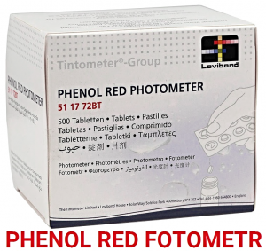 TABLETKI PHENOL RED LOVIBOND PH FOTOMETR