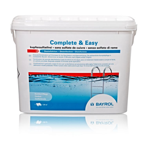 COMPLETE & EASY BAYROL CHLOR DO BASENU 4,4KG