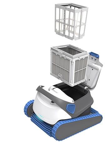 Odkurzacz Basenowy Automatyczny Dolphin S300i Bluetooth Dno